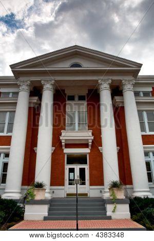 Federal Style Building Facade