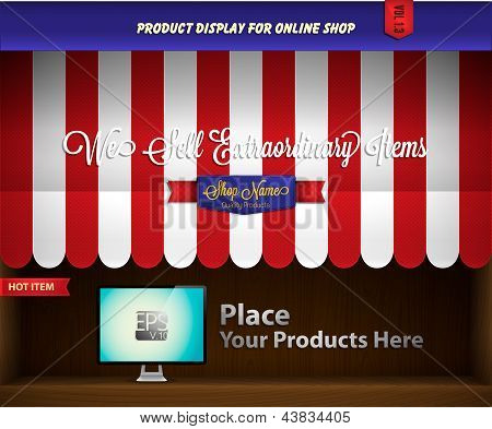 Canopy product display