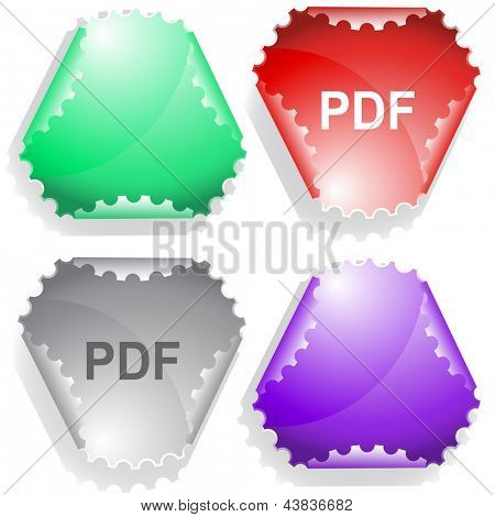 Pdf. Raster sticker.