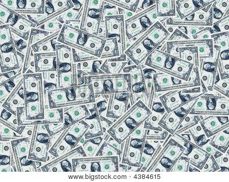 One Dollar Background