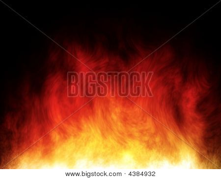 Big And Hot Fire
