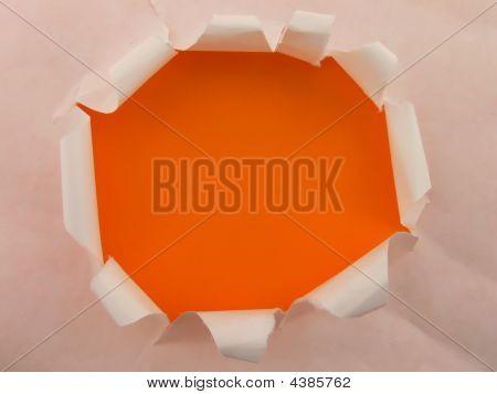 Orange Hole