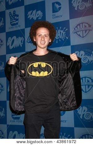 LOS ANGELES - MAR 21:  Josh Sussman at the Batman Product Line Launch at the Meltdown Comics on March 21, 2013 in Los Angeles, CA