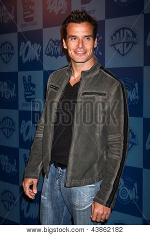 LOS ANGELES - MAR 21:  Antonio Sabato Jr arrive at the Batman Product Line Launch at the Meltdown Comics on March 21, 2013 in Los Angeles, CA
