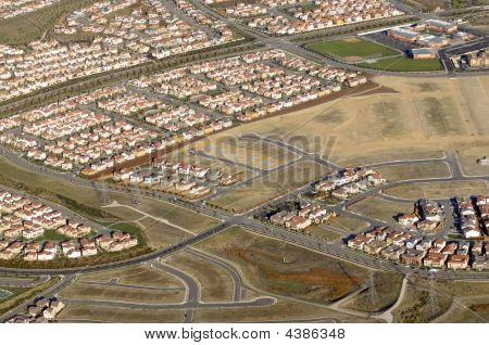 Housing Development From The Air