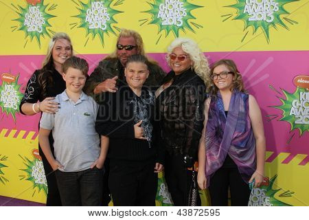 LOS ANGELES - MAR 23:  Duane Chapman arrives at Nickelodeon's 26th Annual Kids' Choice Awards at the USC Galen Center on March 23, 2013 in Los Angeles, CA