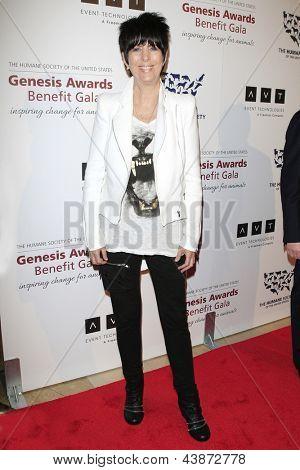 BEVERLY HILLS - 23 de MAR: Diane Warren en la Gala benéfica del premios de la Génesis para el 2013 en el Beverly Hilton