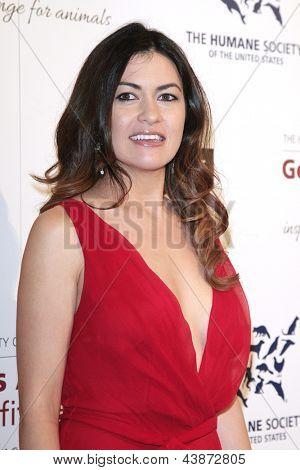 BEVERLY HILLS - 23 de MAR: Leilani Munter en la Gala benéfica del premios de la Génesis para el 2013 en el Beverly Hilto