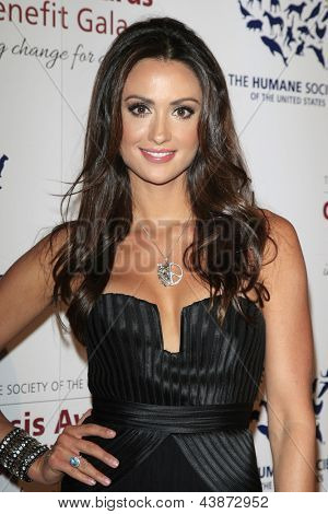 BEVERLY HILLS - MAR 23: Katie Cleary at  the 2013 Genesis Awards Benefit Gala at The Beverly Hilton Hotel on March 23, 2013 in Beverly Hills, California