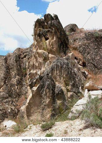 Afloramento rochoso - Arrowrock, Idaho