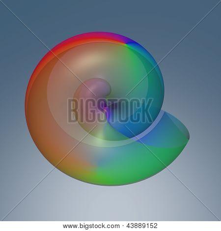 Fundo colorido arco-íris abstrata