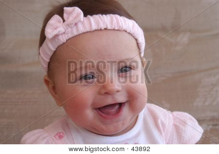Excited Baby Laughing