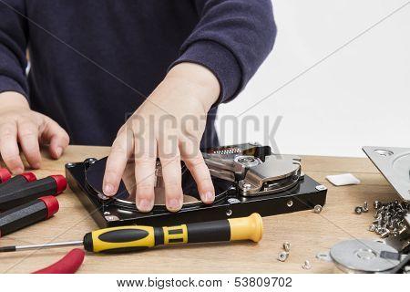 Repairing Defect Hard Drive
