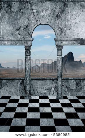 Mountain Top View Ii
