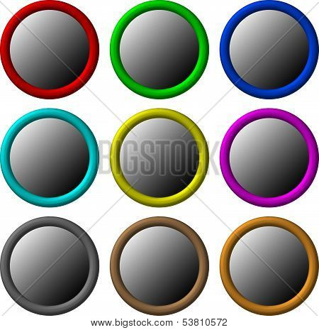 Buttons Circle