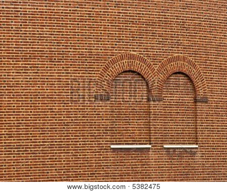 Brick Arch Window