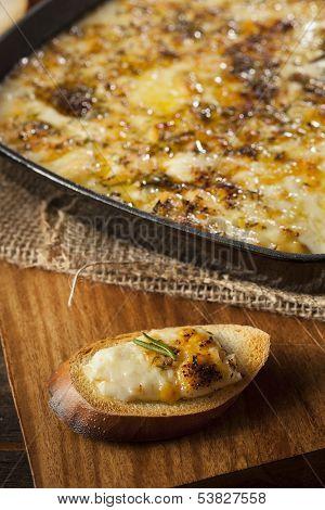Baked Fontina Cheese Dip