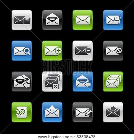 e-mail Icons // Gelbox Series