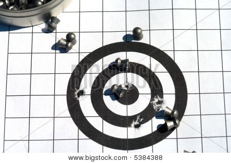 Target And Bullets.