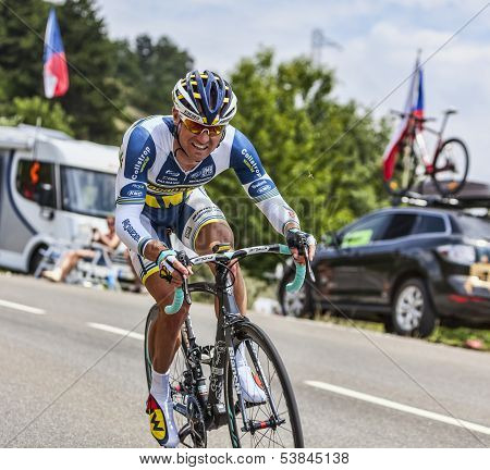 The Cyclist Sergey Lagutin