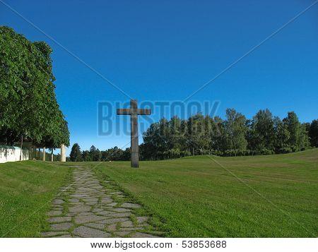 Graveyard In Stockholm (unesco Patrimony)