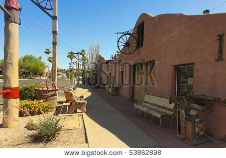 A Cavalliere's Blacksmith Shop Shot, Scottsdale, Arizona