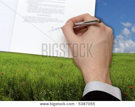 Signature Of Business Contrac