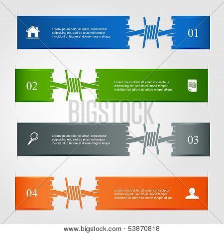 Set of infographic