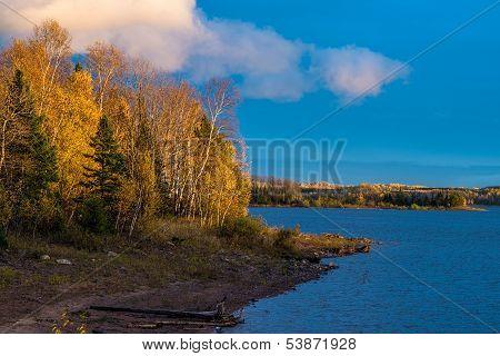 Glowing Autumn Landscape