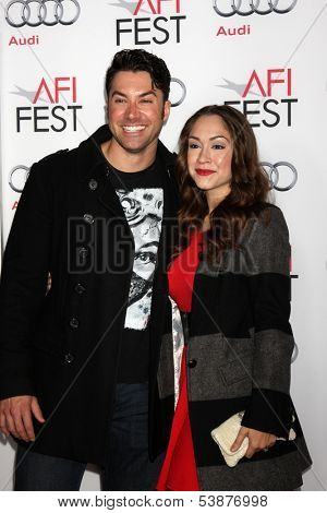 LOS ANGELES - NOV 12:  Ace Young, Diana DeGarmo at the