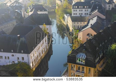 Early Autumn Morning In The Luxembourg