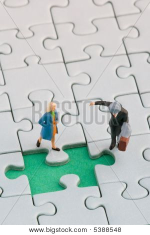 Puzzle And Couple