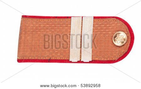 Shoulder Epaulet Isolated