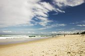 View To Gold Coast Beach In Australia