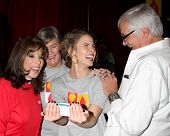 LOS ANGELES - OCT 6: Kate Linder, Char Griggs, Linsey Godfrey, John McCook at the Light The Night Th
