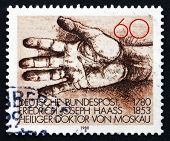 Postage Stamp Germany 1980 Helping Hand