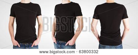 Three Gay In Black T-shirt