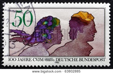 Postage Stamp Germany 1982 Young Men's Christian Association
