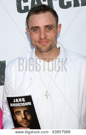 LOS ANGELES - APR 22:  Jake Anderson at the