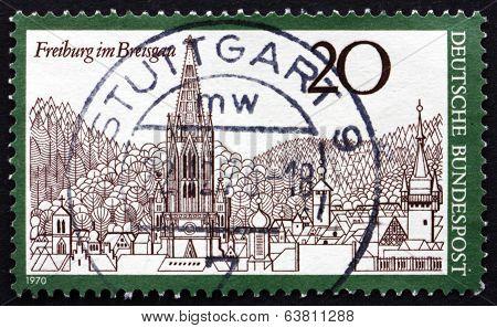 Postage Stamp Germany 1970 Freiburg Im Breisgau