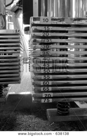Machine Weights BW
