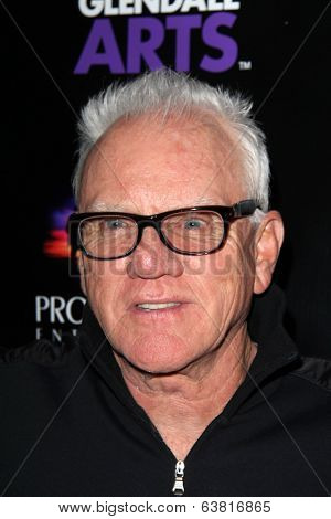 LOS ANGELES - APR 15:  Malcolm McDowell at the