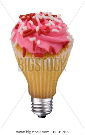 Lightbulb Cupcake