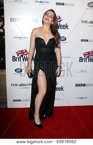 BODHILOS ANGELES - APR 22:  Sophie Simmons at the 8th Annual BritWeek Launch Party at The British Residence on April 22, 2014 in Los Angeles, CA