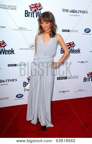 BODHILOS ANGELES - APR 22:  Maria Elena Infantino at the 8th Annual BritWeek Launch Party at The British Residence on April 22, 2014 in Los Angeles, CA