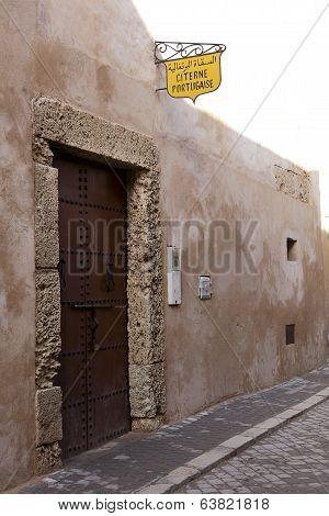 Portuguese Cistern In El Jadida