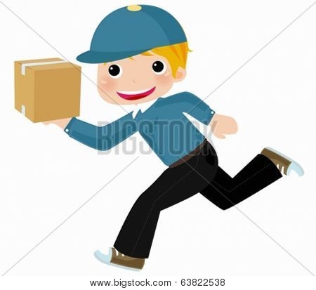 Courier - Delivery Man - Move Service