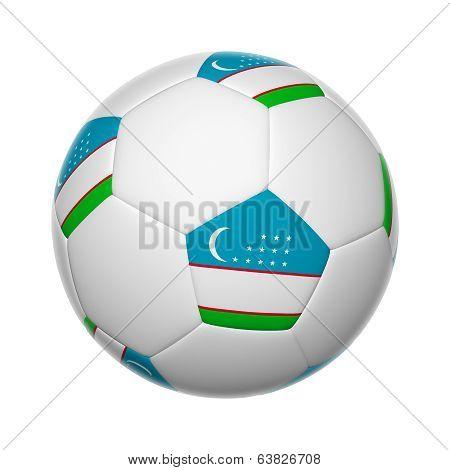Uzbekistan Soccer Ball