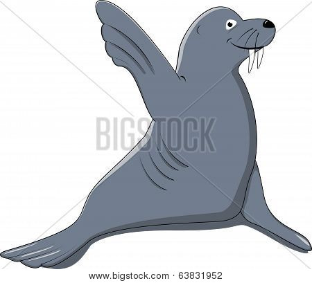 seal say hello