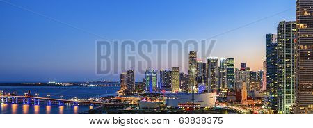 Panoramic View Of Miami